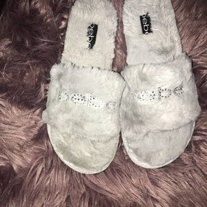 New with box BeBe slippers